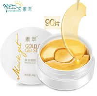 Wholesale SOON PURE Gold Aquagel Collagen Eye Mask Ageless Sleep Mask Eye Patches Dark Circles Face Care Mask To Face Skin Care Whitening