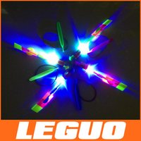 helicopter - LED Amazing flying arrows helicopter fly arrow umbrella kids toys DHL