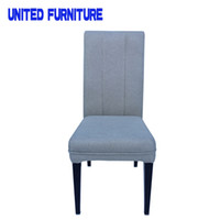 Wholesale Fashion white iron dining chair metal chairs Dining Room Furniture fabric living room furniture wooden office chair