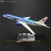 airs malaysia - cm Alloy Metal Air Malaysia Freedom Of Space Airlines Boeing B777 Plane Model Aircraft Airplane Model w Stand Toy