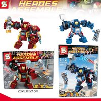 ab industries - Sen industry S brand SY360 hulkbuster iron man VS Raytheon AB mixed children s educational toys DIY