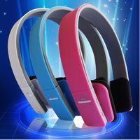 Cheap Universal A headset Bluetooth headset wireless Bluetooth headset binaural stereo Bluetooth sport headset LG Iphone 6 samsung Retail package