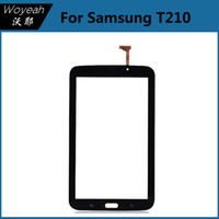 Wholesale Samsung Galaxy Tab T210 P3210 Touch Screen Digitizer Replacement Black And White Repair Replacement Parts