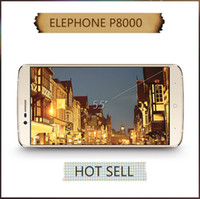 Wholesale Elephone P8000 Touch Fingerprint Android Lollipop Bit Octa Core MTK6753 GB RAM GB ROM inch GPS Smart Phone