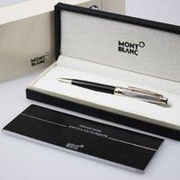 blance - 925Silver Ballpoint Blance Roller Pens School supplies Luxury Ballpoint Laser Stationery Original set free ship Hero pen