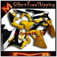 abs plastic mold - For Kawasaki zx7r Body Kit yellow black Fairing ZX R ABS Plastic Bodywork Set
