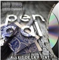 bars dvd - ITmagic Pen Pal by Alexis de la Fuente amp Mark Mason DVD Gimmick bar close up street card magic tricks