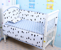 Wholesale Hot Selling Very Cute Cartoon Images Of Baby Bedding Set Cotton fabric Included Bed linen Quilt Cover Bumper