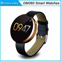 DM360 intelligente montres étanches Bluetooth 4.0 poignet Heart Rate Montres Sport Santé Sync SMS Pour Samsung Galaxy S6 S6 bord Smartphone 002807
