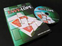 Wholesale Paul Harris Presents Envylope Gimmick DVD card stage close up magic tricks gimmicks DVD Wolesale