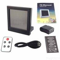 Wholesale 1280x720 Color HD Motion Detection Mirror Clock Camera home security Hidden Camera Mini DVR spy camera