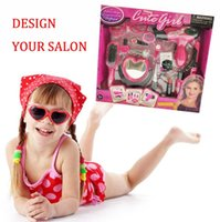 Wholesale 2015 New Educational Baby Make Up Toy for Girls Pretend Play Classic Simulation make up toy set For Children Xmas Gift B