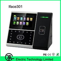 Wholesale Good quality Iface301 linux system ID card time attendance and facial access control