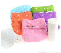 Wholesale Newly Waterproof Adult Cloth Diaper for disabled old women and men reusable medical adult diaper Cloth Nappy with Inserts