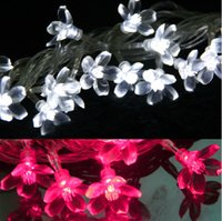 Wholesale Novelty m Bulbs battery operated LED Cherry strings luminaria decoration lighting lamps holiday home indoor night lights