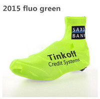 Wholesale Tinkoff SAXO BANK Bike Bicycle Shoe Covers Outdoor Overshoes summer cycling wear high quality cycling clothing shoes