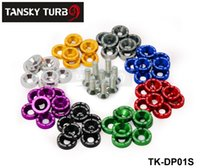 accord bumpers - Tansky SET JDM Style Fender Washers Bumper Washer Lisence Plate Bolts Kits for CIVIC ACCORD TK DP01S