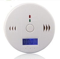 Wholesale CO Carbon Monoxide Smoke Detector Gas Fire Warning Alarm Battery operated Alert