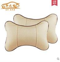 car seat covers - high quality car seat headrest Seat Neck Head car Pillow Soft Back Cushion Winter car seat car seat cover protection pillow