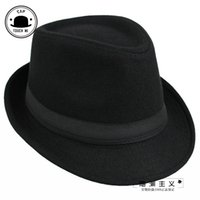 Wholesale 2014 Brand New Fashion Pure men Women s Large Brim Caps fedoras Floppy Jazz hat Vintage Popular wool caps