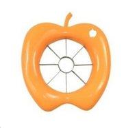 apple wedger - Apple Slicer Fruit Knife Apple Pear Corer Slicer Cutter Core Handed Wedger Fruit Easy Cut