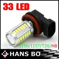Wholesale 2X High Power SMD LED H8 TAIL REVERSE Parking BULBS Super White
