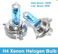 H4 xenon light bulb - H4 XENON HALOGEN BULB V W Headlights Super White H4 K Xenon Car HeadLight Bulb Halogen Light Dropshipping