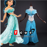 aladdin accessories - Aladdin Jasmine Princess Cosplay Costume for Adult Custom made costume top pant hair accessory