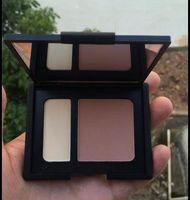 Wholesale New Arrivals Cometics Makeup blush Palette CONTOUR BLUSH SCULPTANT G G two colors blush palette face powder
