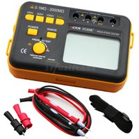 Wholesale 4pcs Digital Insulation Resistance Tester Meter Megger AIA00605