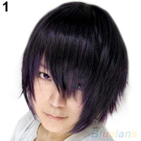 Wholesale Fashion Short Wig Cosplay Party Costume Straight Wigs Full Wig Cap PHQ