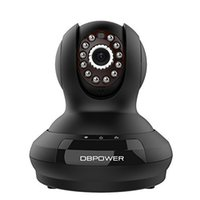 Wholesale DBPOWER p Pan Tilt Surveillance IP Camera Two Way Audio IR CUT Night Vision Motion Detection Cloud Storage Mobile Remote