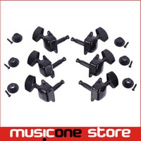 Wholesale 3R3L Black Semiclosed Tuning Pegs Machine Heads for Acoustic Guitar MU0478