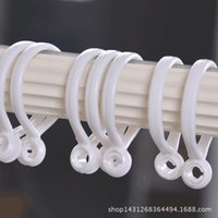 Wholesale Curtain rings hanging shower curtain rod telescopic rod rings Roman quality parts ring