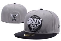balls bull - Fashion Bulls Embroidery Cotton Fiited Sport Snapback Basketball Fit Caps With Box