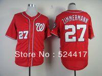 Wholesale New Washington Jordan Zimmermann white baseball Jerseys Cool Base men s stitched jersey