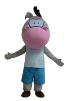 adult hippo costume - Hippo Role Play Cartoon Mascot Costume Christmas Party Adult Size for Film Prop Boy Girl Hippopotamus Mascot Costume