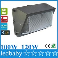 Wholesale Led Wall Pack W W Fixture Lights Flood Light Wash Lamp Energy Savings efficient Building Outdoor Lighting AC V Mean Well Driver