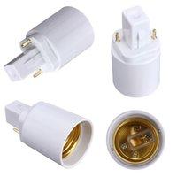 best cfl - Best Price G24 To E27 Socket Base LED Halogen CFL Light Bulb Lamp Adapter Converter Holder order lt no track
