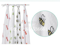 baby blankets lot - quot Summer applicable cm aden anais cotton multifunctional baby blanket swaddle newborn Baojin