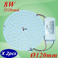 Wholesale W cm Magnetic LED Ceiling Round Board Lights Panel Circular Disc Lights Replace to Traditional D Tube