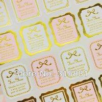 Cheap GOLD for you Seal Label Sticker Set Packaging Party Gift Wrap Diary Deco Wedding Card Deco Stickers