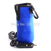 Wholesale Portable Car Bottle Warmer Drink Coffee Food Milk V Heater For Baby Kids Mini Linear Temperature Programmer Blue