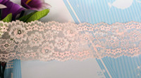 Wholesale 8x100cm New Arrivil Fashion Cheap Light Pink Lace Table Runner Wedding Cloth Runners Holiday Favor Party