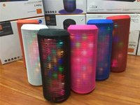 4.1 Universal HiFi New PULSE 3 Music Pulsing Wireless Bluetooth Speakers Stereo Dazzle Flash Seven lights Speaker Bass TF Card USB Disk For s7 edge