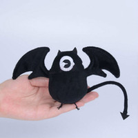 animate collection - Seraph of the End Anime Collection Figure Any Size Krul Tepes Black Fluff Bat Doll Animate Tools Cosplay Props Plush Puppets