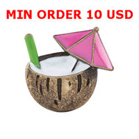 wholesale drinks - Floating charms COCONUT DRINK CHARM for memory living locket