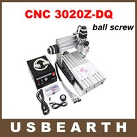 CNC 3020Z-DQ cnc - Advanced cnc Z DQ cnc router with ball screw and tool auto checking instrument upgraded from T engraving machine