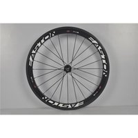 Wholesale Carbon Bike Wheels Clincher Tubular Easton White Deacals Matte Glossy V Brake Bicycle Wheelsets Cycling Riding Wheels T700 K