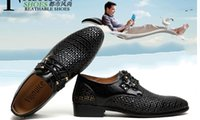 new style man dress shoes - 2014 NEW HOT style black breathable leather cusp shoes dress shoes men s casual shoes groom wedding shoes color